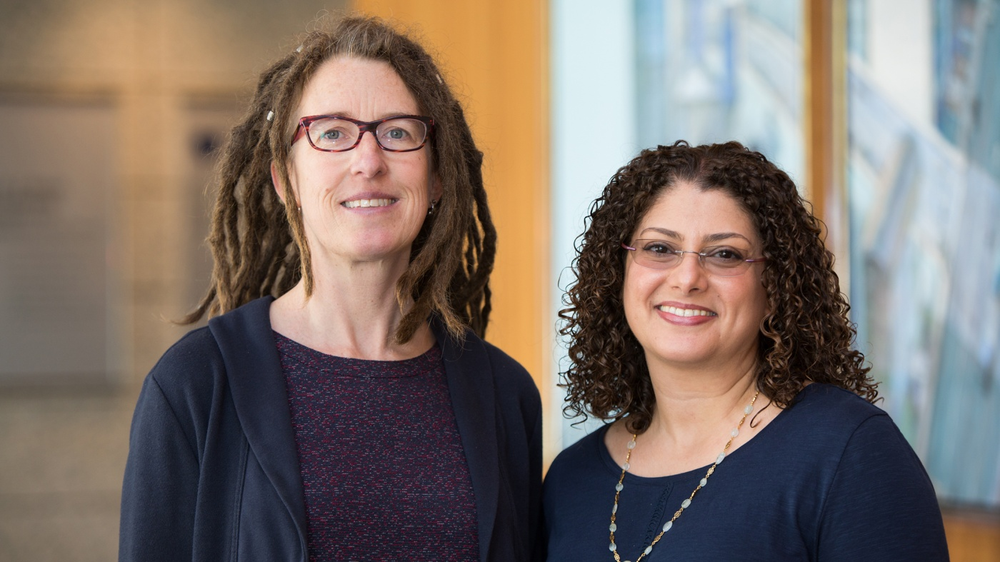 Gladstone Investigators Katherine Pollard and Shomyseh Sanjabi