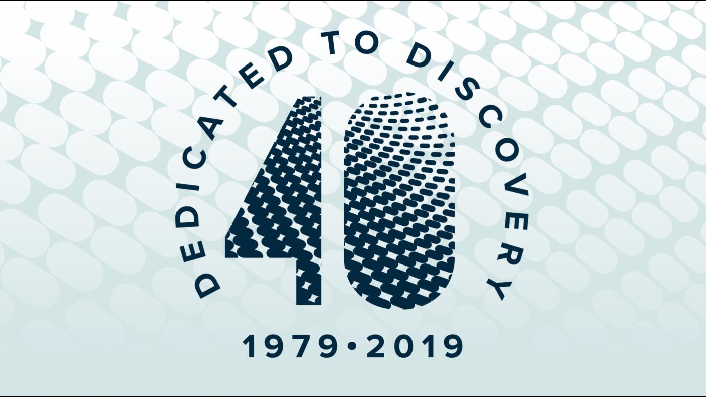 Gladstone 40th logo