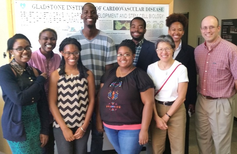 Undergraduate students from the UC-Historically Black Colleges and Universities Initiative Program