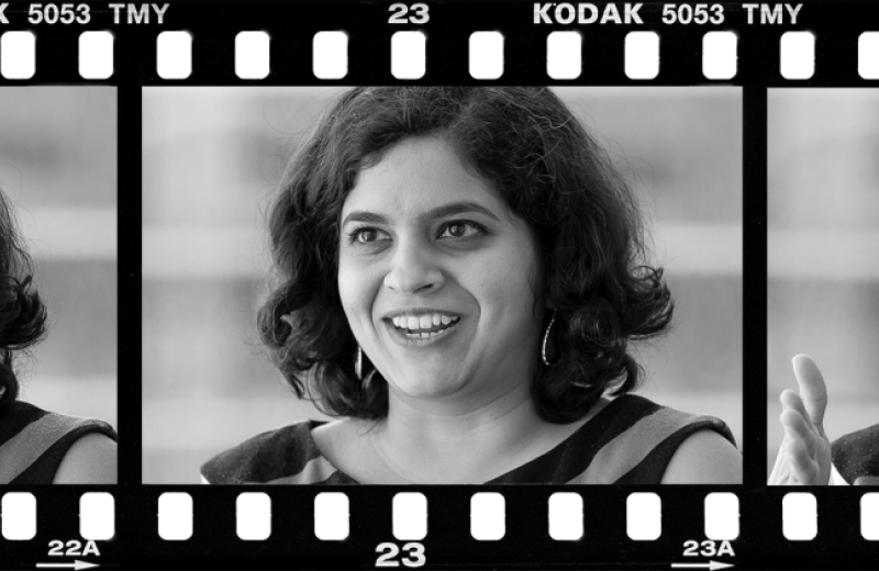 Film strip of Sudha Krishnamurthy
